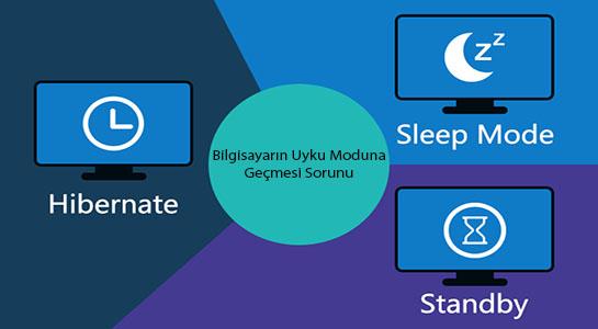 Bilgisayarın Uyku Moduna Geçmesi Sorunu