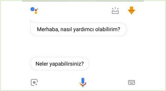 Google Asistan Türkçe Açıldı